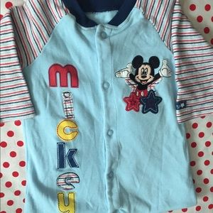 Retro Mickey Mouse Jumpsuit